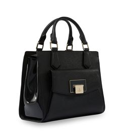 Black Opio Saffiano Bag 131020