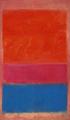 Mark Rorthko, No. 1 (Royal Red & Blue), 1954