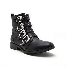 6b0270b654170 Qupid Womens Vinci 58 Booties Block Heel Zip - JCPenney