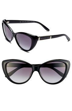 MARC BY MARC JACOBS 56mm Cat Eye Sunglasses Nordstrom- If only these were polarized.