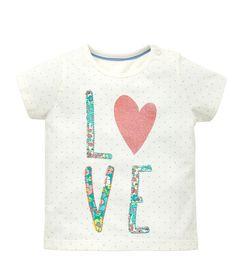 Mothercare Camiseta Love - Promocion camisetas 2 x 1 - Mothercare