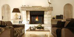 Cheminée - Le Clos Saint-Martin - 4 étoiles - Saint-Martin-en-Ré #hotel #fireplace #poitoucharentes #france #winter #cocooning #christmasholidays