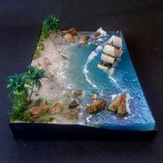 Golden Hind, Pirate Island, Diy Epoxy, Cement Crafts, Coffee Photography, Science Projects, Resin Art, Morning Coffee, Cakes