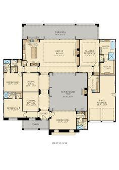 Residence 1 New Home Plan in Griffin Ranch: Pimlico
