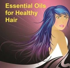 Essential oils for healthy hair need base oils such as sweet almond, apricot kernel, avocado, jojoba, evening primrose or sunflower. For one scalp treatment choose up to three essential oils and use five drops of each for two tablespoons of base oil. For very long hair you will probably need more oil. Warm the blended oils by placing the container in a bowl of boiling water, and then massage into the scalp. Wrap with a hot towel, leave for at least 15 minutes and then shampoo.