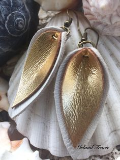A personal favorite from my Etsy shop https://www.etsy.com/listing/563559754/leather-earrings-drop-earrings-rustic