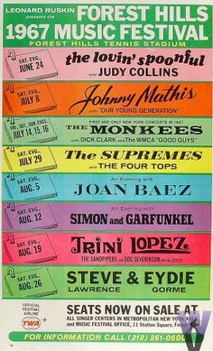 1967 Forest Hills Music Festival..