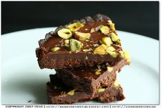 Chocolate Tart with Pistachios