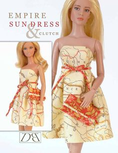 Free Copy of Pattern - Sundress Clutch