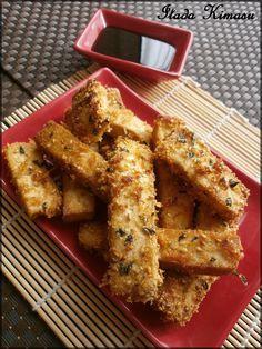 Perso , j'ai toujours eu du mal avec le tofu . Le problème, c'est que j'ai déjà essayer pas mal de recettes avec cet ingrédient et je n'ai jamais trouvé cela spécialement bon . Mais là : Magie !! Une recette du livre de Laura Kié : Izakaya : apéros japonais...