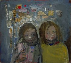 Joan Eardley: the forgotten artist who captured Scotland's life and soul Glasgow School Of Art, Art School, Gallery Of Modern Art, List Of Artists, Soul Art, National Portrait Gallery, Drawing For Kids, Art Forms, Painting & Drawing