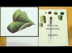 Pintar hojas con movimiento One Stroke , paint leaves motion - YouTube