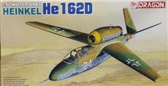 Dragon 1/48 Kit Heinkel He-162D with Forward Swept Wings & V-Tail