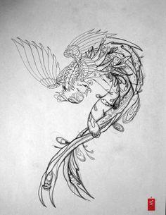 phoenix tattoos for men | tattoo design meanings read more black phoenix tattoos