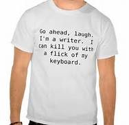 Writer's have the last word ...