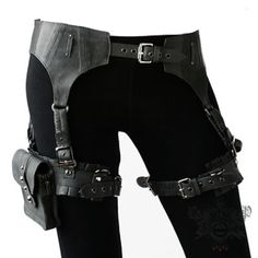 leg holster design | ... Trashion ::: DIY fashion by Outi Pyy :::: Leather leg…