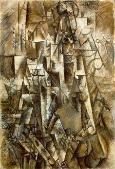 Poet, 1911 Pablo Picasso - Style - Analytical Cubism