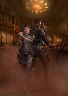 Resident Evil: Revelations - Jill & Parker Poster 2
