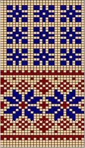 estonian mittens - use chart to make Mochila crochet bag Knitting Charts, Knitting Stitches, Knitting Patterns, Knitting Designs, Crochet Bedspread Pattern, Tapestry Crochet, Mittens Pattern, Knit Mittens, Pattern Library
