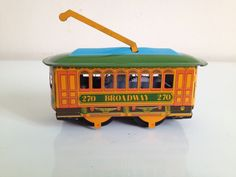 Mini tram- RM15 | The Tinmen-online vintage tin toy store