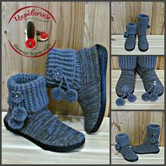Crochet Boot Socks, Crochet Slipper Boots, Knit Shoes, Crochet Slippers, Trash To Couture, Furry Boots, Wrap Shoes, Unique Shoes, Womens Slippers