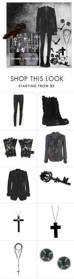 """""""back to basics"""" by m-e-r-m-a-i-d ❤ liked on Polyvore featuring Marc by Marc Jacobs, AllSaints, Forever 21, McQ by Alexander McQueen, Balmain, Alex and Chloe, Dolce&Gabbana and Elyse Jacob"""