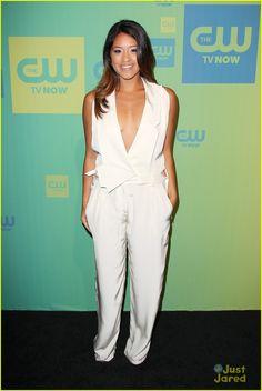 Gina Rodriguez at CW 2014 Upfront