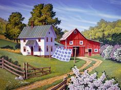 American Patchwork ~ John Sloane