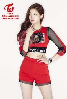 Dahyun from Twice. She is a vocalist and she does sub-rap. She is so gorgeous and I love her eagle dance.  (Also one of my favorites) #JYP #Twice❤️