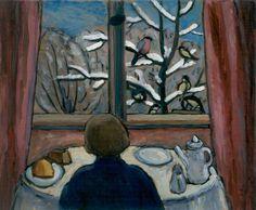https://flic.kr/p/rmnQpH | Gabriele Münter - Breakfast of the Birds