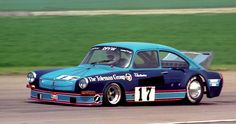 British saloon car Colin Hawker's Cosworth DFV 3.0 powered VW 1600 coupe