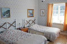 Bed & Breakfast - fina rum med havsutsikt - Salsåker Herrgård i Höga Kusten, Bröllop Bed and Breakfast Konferens, High Coast Manor
