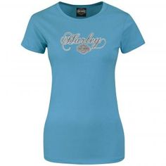 "Harley-Davidson Womens Shirt ""Eye Opener Horizon"""