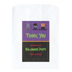 Witches Feet Halloween Party Favor Bag - craft supplies diy custom design supply special