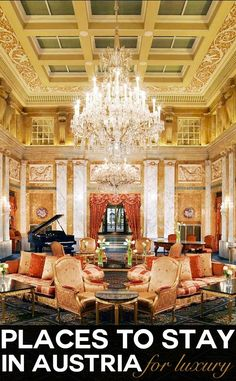 We just love staying in hotels in Austria. There's the quality, facilities, design, food, spas, their quaint traditions and their quirks. Hotel Imperial Vienna – located on the city's most regal street, The Ring, is a hotel full of old world glamour, dripping in opulence. Here's more than 20 luxurious hotel experiences to help define your own hotel style when you travel to Austria.