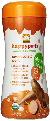 Happy Baby Organic Baby Food Superfood Puffs Sweet Potato & Carrot, Ounce Organic Baby or Toddler Snacks, Crunchy Fruit & Veggie Snack, Choline to Support Brain & Eye Health Foods With Iron, Foods High In Iron, High Fiber Foods, Baby Food For Constipation, Foods That Cause Constipation, Baby Food 8 Months, Baby Food By Age, Baby Food Recipes, Gourmet Recipes