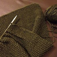 Wool & Flax: A Manly Mossy Cowl