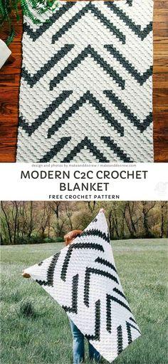Crochet C2c Pattern, C2c Crochet Blanket, Crochet Blanket Patterns, Free Crochet, Crochet Throws, Crochet Mandala, Crochet Afghans, Crochet Lace, Crochet Stitches