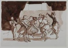 Paula Rego 'Drawing for 'The Dance'', 1988 © Paula Rego