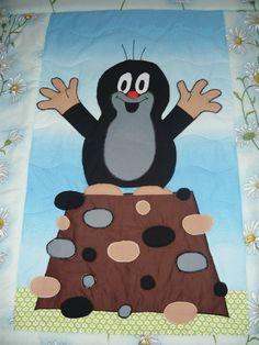 Dětská deka s krtečkem :: jituska-patchwork