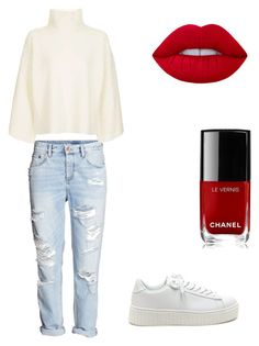 """""""Casual"""" by demi-tessa on Polyvore featuring mode, Topshop en Chanel"""
