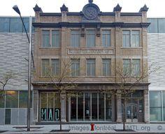 Maison de l'architecture, 181 Saint Antoine West,  Montreal, built in 1908