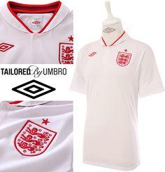 The new England Shirt - Umbro did a really good job on the new kit