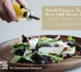 Mixed Greens, Pear & Warm Goat Cheese Salad