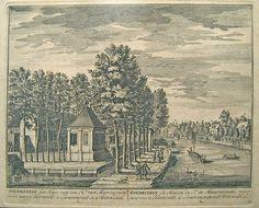 Goudestein in Maarssen, prent uit / Illustration aus Daniel Stoopendaal, De Zegepralende Vecht, 1719.    www.kukullus.nl