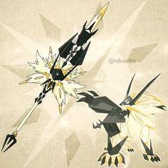 Pokemon Ultra Sun - Dusk Mane Necrozma https://www.instagram.com/rebusalpa