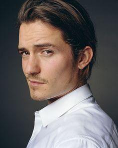 Orlando Bloom - I like longer hair on guys. Some guys can pull it off, some guys can't. Orlando - so can!