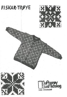Norwegian Knitting, Fair Isle Pattern, Fair Isle Knitting, Old Pictures, Norway, Hooks, Scandinavian, Knitwear, Knitting Patterns