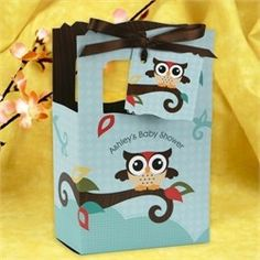 Owl Baby Shower Favor