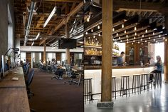 Cafe-Inspired Tech Offices - This San Francisco Office Takes Its Design Cues from Coffee Shops (GALLERY)
